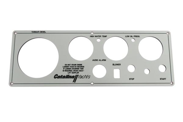<span style= >Engine Instrument Panel Faceplate Only Yanmar Diesels</span>