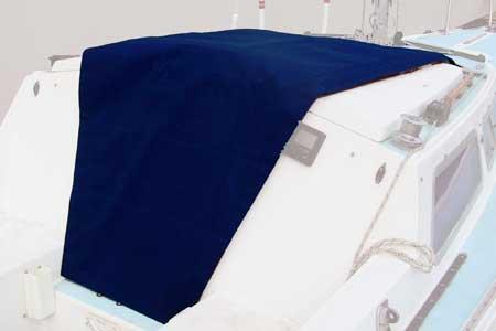 <span style= >Companionway Cover Royal Blue Tweed C-25</span>