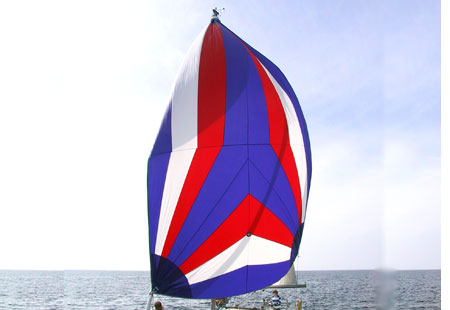<span style= >C-25 Tall Rig Racing Spinnaker by Ullman</span>