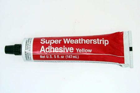 <span style= >Weatherstrip Adhesive</span>