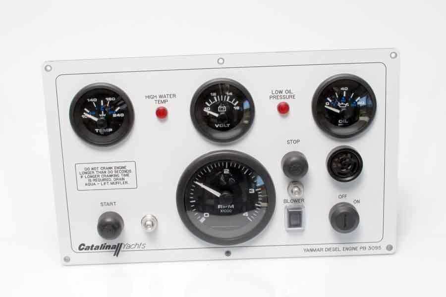 Catalina Direct: Engine Instrument Panel C-400 w/ Yanmar 4JH4